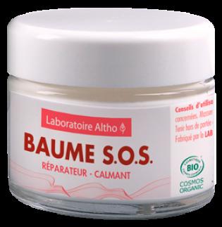 Baume S.O.S réparateur pour peaux sensibles