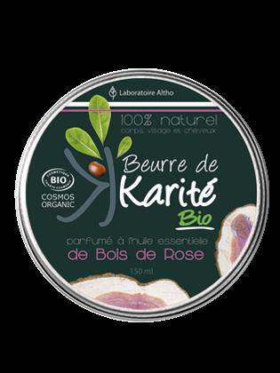Beurre de Karite bio bois de rose