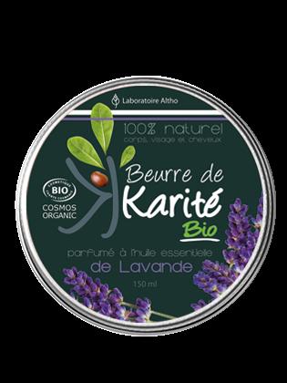 Beurre de Karite bio lavande bio
