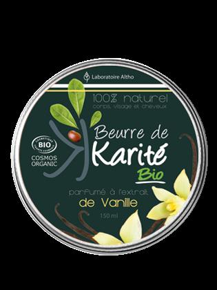 Beurre de Karite bio vanille