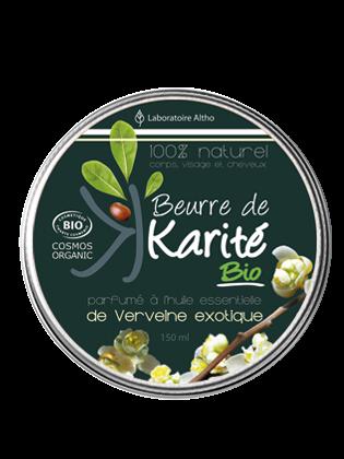Beurre de Karite bio verveine exotique bio