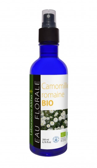 ORGANIC floral water of ROMAN CHAMOMILE