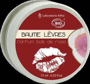 BAUME A LEVRES BOIS DE ROSE BIO