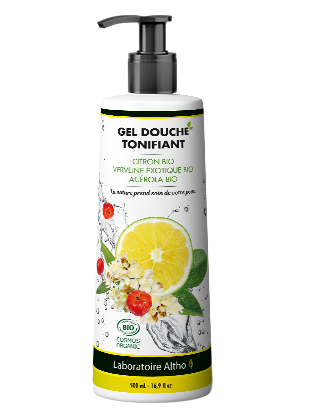 Gel douche tonifiant bio - sans sulfates