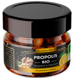Gomme à mâcher Propolis bio