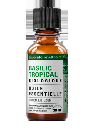 Huile essentielle de basilic bio 30 mL