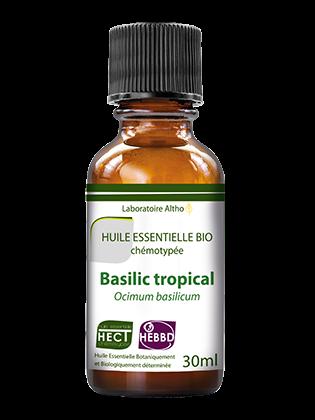 Organic basil essential oil 30ml