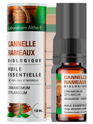 Huile essentielle de Cannelle Rameaux bio