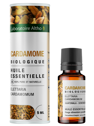 Huile essentielle de Cardamome bio