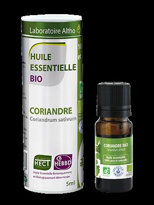 Organic Coriander essential oil