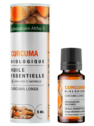 Organic Turmeric essential oil
