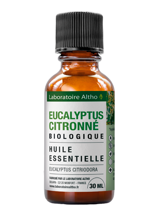 Huile essentielle de Eucalyptus citronne bio 30 mL
