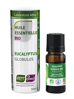 Organic Eucalyptus globulus oil 10mL