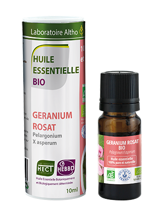 Organic Geranium rosat oil 10mL