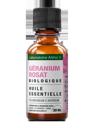 Huile essentielle de Geranium rosat bio 30 mL