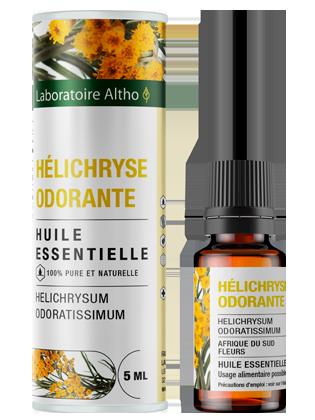Huile essentielle de Hélichryse odorante bio