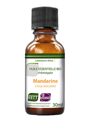 Organic Mandarin orange essential oil 30mL