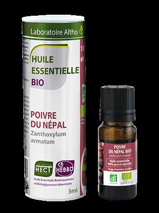 Huile essentielle de Poivre du Népal bio