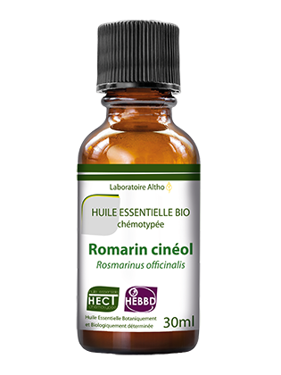Organic Rosemary cineole essential oil 30mL