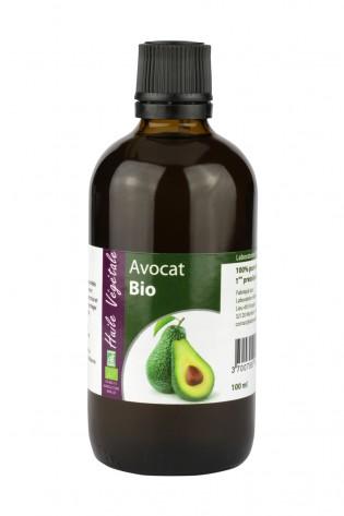 Huile vegetale de Avocat bio 100mL