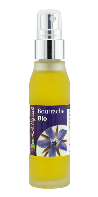Huile vegetale de Bourrache bio 50mL