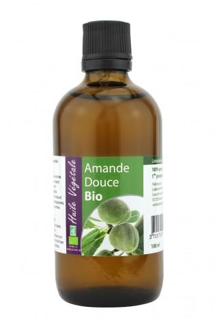 Huile vegetale de Amande douce bio 100mL