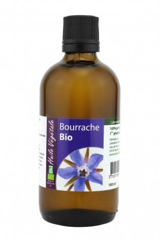 Huile vegetale de Bourrache bio 100mL