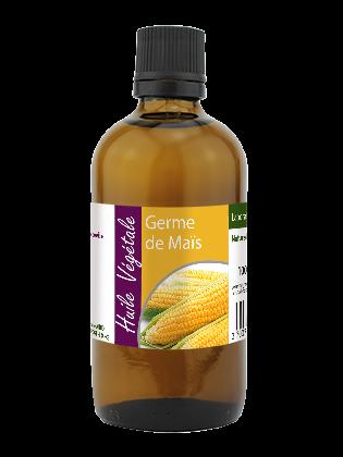 Huile vegetale de Germe de maïs bio 100mL