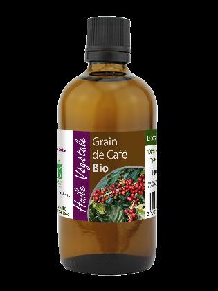 Huile vegetale de Grain de café bio 100mL