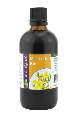 Huile vegetale de Millepertuis bio 100mL
