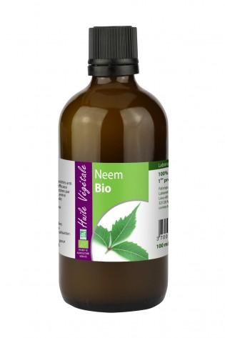 Huile vegetale de Neem bio 100mL