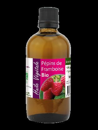 Huile vegetale de Pépins de framboise bio 100mL