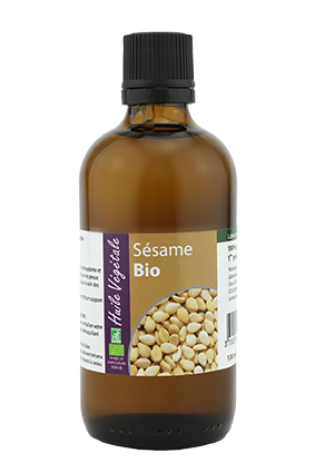 Huile vegetale de Sesame bio 100mL