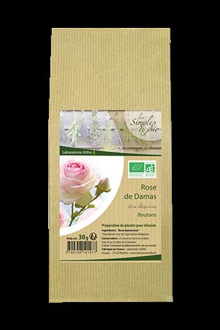 Bouton Rose (damascena) bio 30g