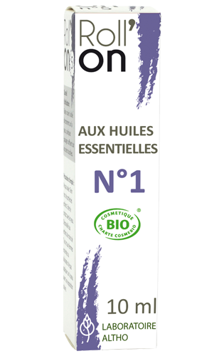 Roll'On N°1: SKIN ALLERGIES (organic)