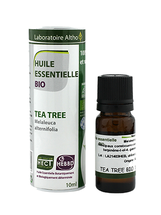 HUILE ESSENTIELLE de TEA TREE (ARBRE à THE) BIO 10 mL