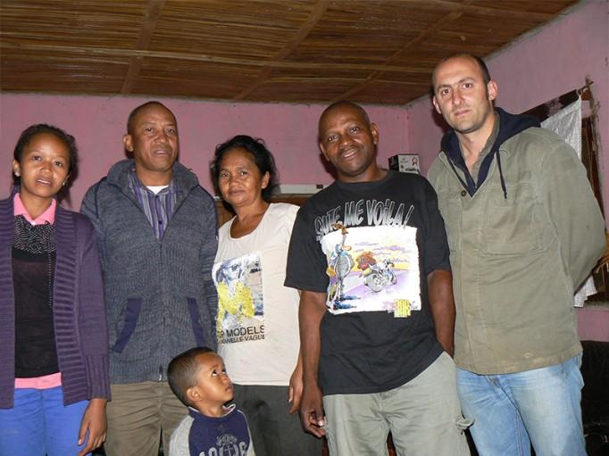En compagnie de notre distillateur et de sa famille