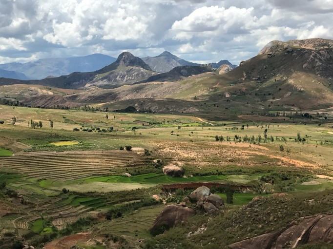 Très beaux paysages de la région